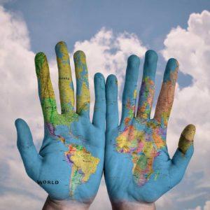 Hände & Welt